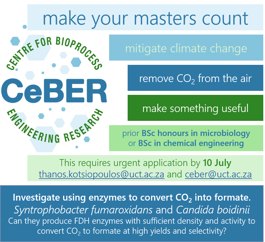 Invitation to apply for a meaningful Masters with CeBER